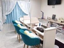 フットネイル・マツエク専用の個室もあります!