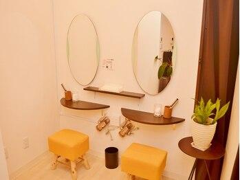 アイケア専門店 ビューティースペース 品川大井町店(Beauty Space)/ドレッサー完備しております