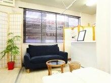 美サンテの雰囲気(座り心地のいいソファがある、待合い&カウンセリングスペース☆)