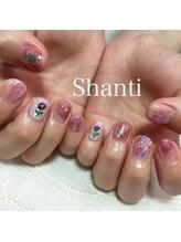 シャンティ ネイルサロン(Shanti nail salon)/春ネイル♪ニュアンスネイル