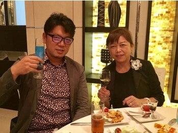 東京小顔 大船店/VOCEパーティーにて幹細胞の勉強