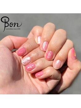 ネイルアトリエ ボン(nail atelier bon)/ニュアンスネイル