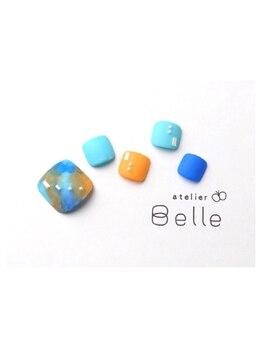 アトリエ ベル(atelier Belle)/足あと*