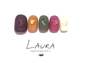 ローラポンポニー(Laura pomponnee)/マット×天然石
