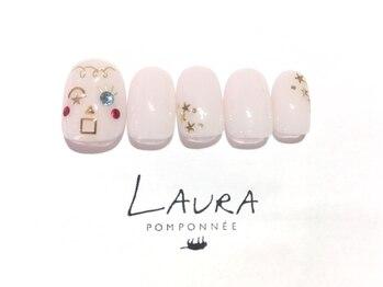 ローラポンポニー(Laura pomponnee)/顔アート