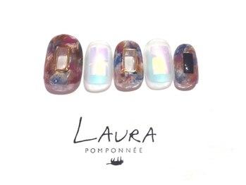 ローラポンポニー(Laura pomponnee)/くり抜きニュアンス