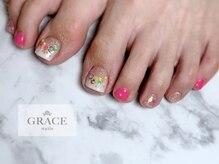 グレース ネイルズ(GRACE nails)/カラフルフット