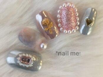 ネイルミー(nail me!)/ネイルUP!2月号掲載☆