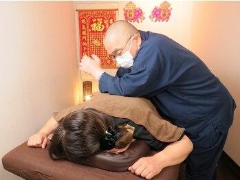 花蓮(ファーレン)の写真/完全個室!【骨盤矯正付!台湾整体/足つぼ/小顔矯正から選べる2MENU★60分¥6100】首や肩が辛い方におすすめ♪