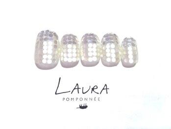 ローラポンポニー(Laura pomponnee)/異素材ホログラム