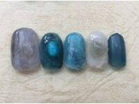 brush nail design 【ブラッシュネイルデザイン】