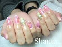 シャンティ ネイルサロン(Shanti nail salon)/和服に押し花ネイル前撮り成人式