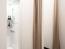 ライザップ 新宿店(RIZAP)/清潔感のあるシャワールーム