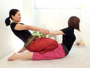 マナローザ 大通店(Mana Rosa)の写真/タイ古式マッサージ『二人ヨガ』×整体・筋膜リリースで全身矯正♪身体の芯までほぐし、リラックス効果も◎