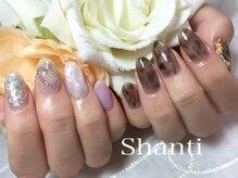 シャンティ ネイルサロン(Shanti nail salon)/ニュアンスシースルーネイル♪