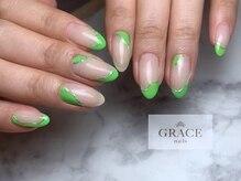 グレース ネイルズ(GRACE nails)/大人のうねうねネイル