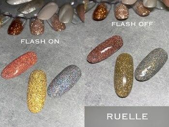 リュエル(RUELLE)/フラッシュネイル 最新ネイル