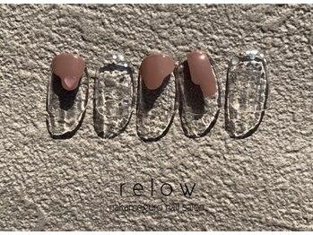 リロウ(relow)/2月キャンペーンネイル