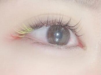 プライズアイリス アイラッシュ 池袋東口店(prize Iris eyelash)の写真/color変更+¥1000!何色でもmix同価格!ALLブラウンやポイントカラーもこの機会に★透明感のある外国人風も♪