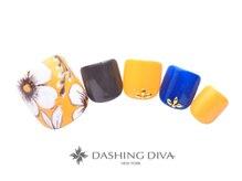 ダッシングディバ センター南サウスウッド店(DASHING DIVA)の雰囲気(フットジェルネイルも足裏の角質ケアのメニューもございます♪)