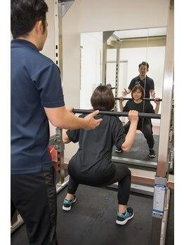 トリム 大財店(Trim)の写真/【完全個室】手ぶらでOK!ウェア・ズボン・シューズが無料貸出【パーソナルトレーニング60分¥9720→¥3300】