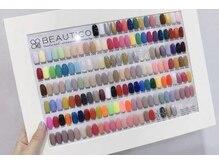 豊富なカラーであなたの指先を彩ります♪
