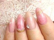 指先にも女性らしさを♪見るたびに笑顔になれる指先に(*^^*)