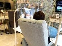 ウイルス対策、飛沫感染防止シート設置!!