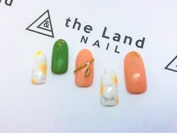 ザ ランド ネイル(the Land Nail)/フラワー&スター △松下