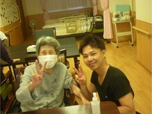 メンズセラピストスパ カラダビューティー(SPA)/介護施設にてボランティア♪