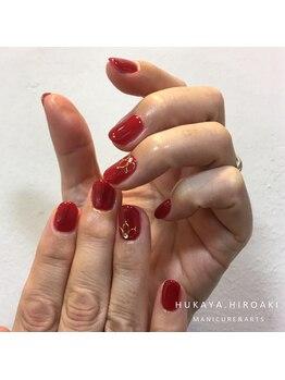 ネイルスタジオ レイナローズ(NAIL STUDIO Reina Rose)/レッド