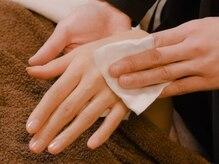 ウェル ニコ(well nico)の雰囲気(脱毛の施術後には、しっかりとお肌の保湿を行います。)