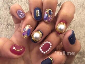 ネイルミー(nail me!)/ネイルUP!2月号掲載