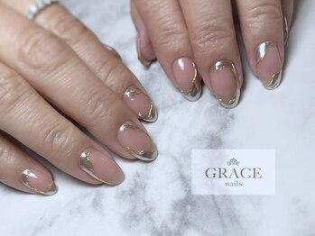 グレース ネイルズ(GRACE nails)/ミラ―うねうね