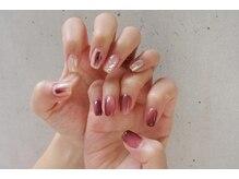【nail】Bordeaux nuance 初8600