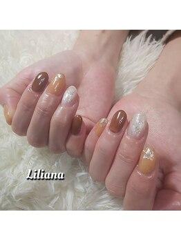 リリアーナ(Liliana)/ドロップカラー シアーネイル