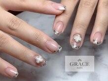 グレース ネイルズ(GRACE nails)/ガラスフレンチ