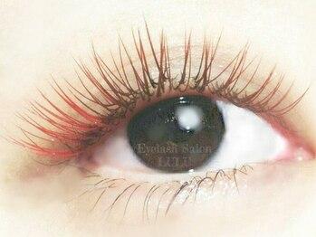 アイラッシュサロン ルル(Eyelash Salon LULU)/レッド&チェリーブラウン