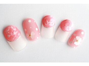 ルフラン 武蔵境店(Refranc)/マットコートでふわっとピンク☆