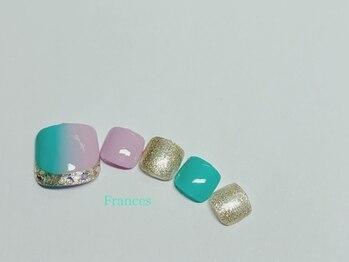 フランセス(Frances)/foot 縦グラデーション
