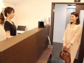 アイラッシュサロン セリナ 新宿東南口店/お出迎え