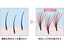 クァフォリウム 平岸店(Quafolium)の雰囲気(増毛エクステ¥7900ふんわりトップにボリュームでなりたいヘアー)
