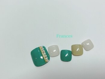 フランセス(Frances)/フット チェーン×ストーン