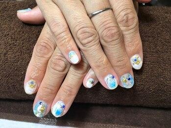 ボニータ(Bonita)の写真/シンプル~可愛い~華やか系などお客様のなりたいをお手伝い♪平日限定クーポン使用で更に綺麗な指先へ!!