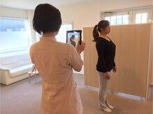 メディカルキュアカイロエステラクリア清須 (Cure)の雰囲気(自分の姿勢を写真で確認。)