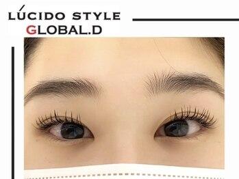 ルシードスタイル グローバルディー 稲毛店(LUCIDO STYLE GLOBAL.D)/ ブラウンフラットラッシュ100本
