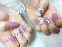 シャンティ ネイルサロン(Shanti nail salon)/春夏秋冬押し花ネイル♪
