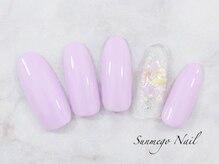 サンミーゴネイル 神戸店(Sunmego Nail)/シンプルネイル5オフ込み¥4200