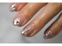 ネイルサロンブラン(nail salon BLANC)/美爪ネイル ホログラム