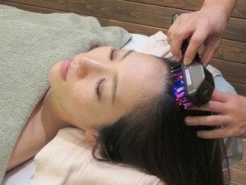 テトテ(TE to TE Natural Beauty & Relaxation)の写真/話題のデンキパリブラシ☆リフトアップ/頭皮/首の疲れ/脳疲労に◎オプションでお好きなコースにつけられる!